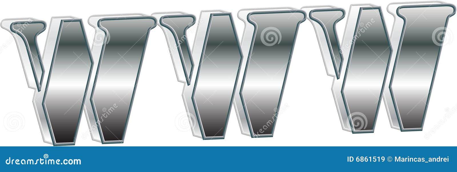 металлический текст www