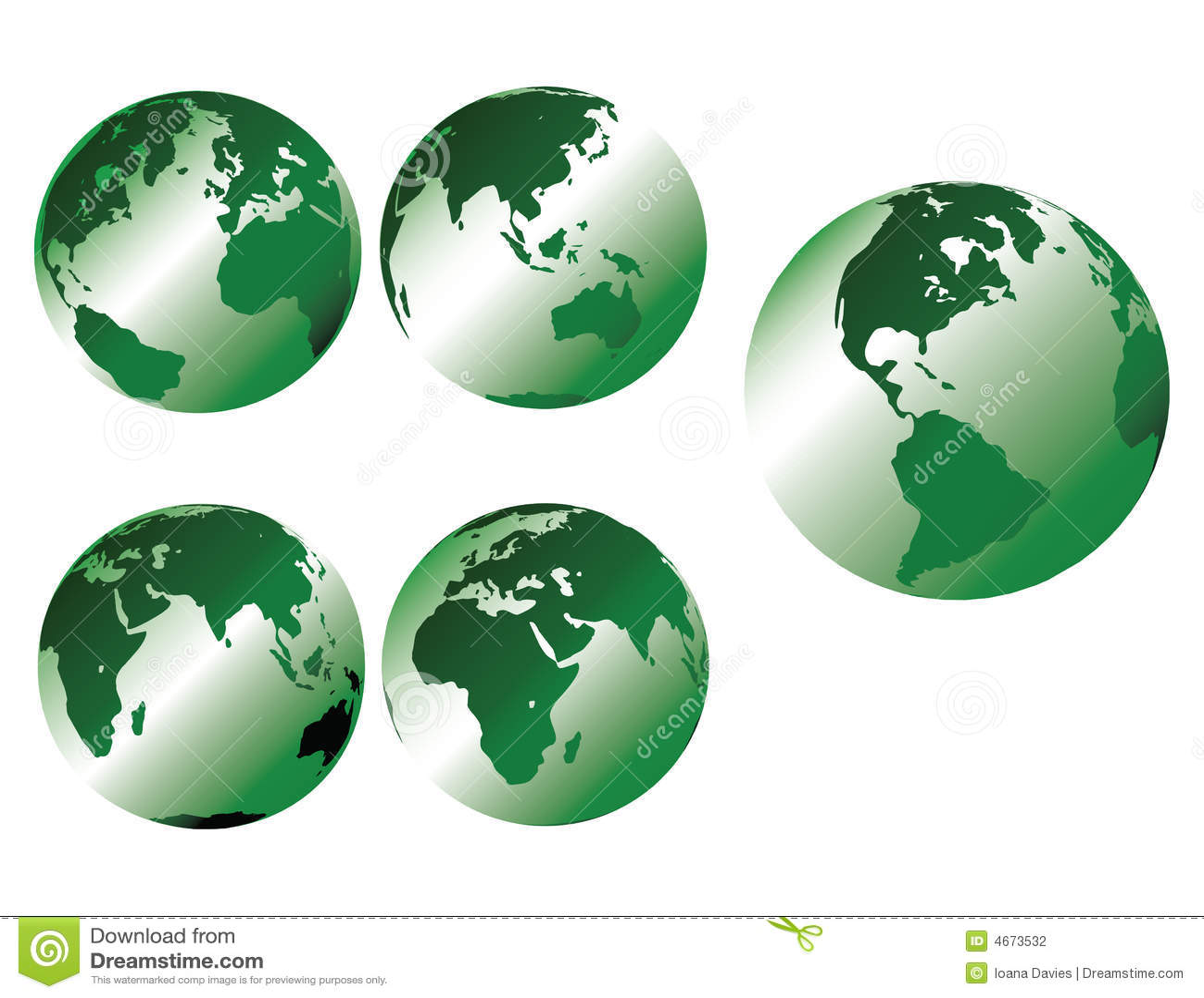 металлическое земли зеленое
