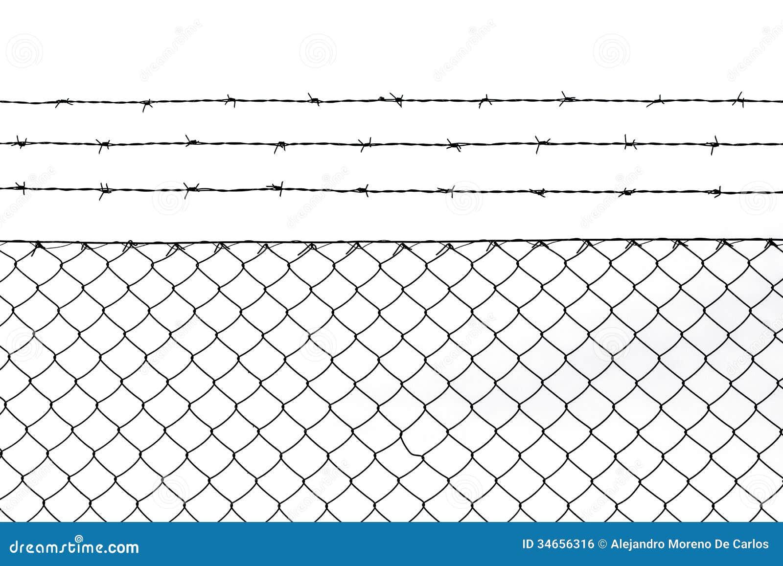 Металлическая предпосылка картины загородки