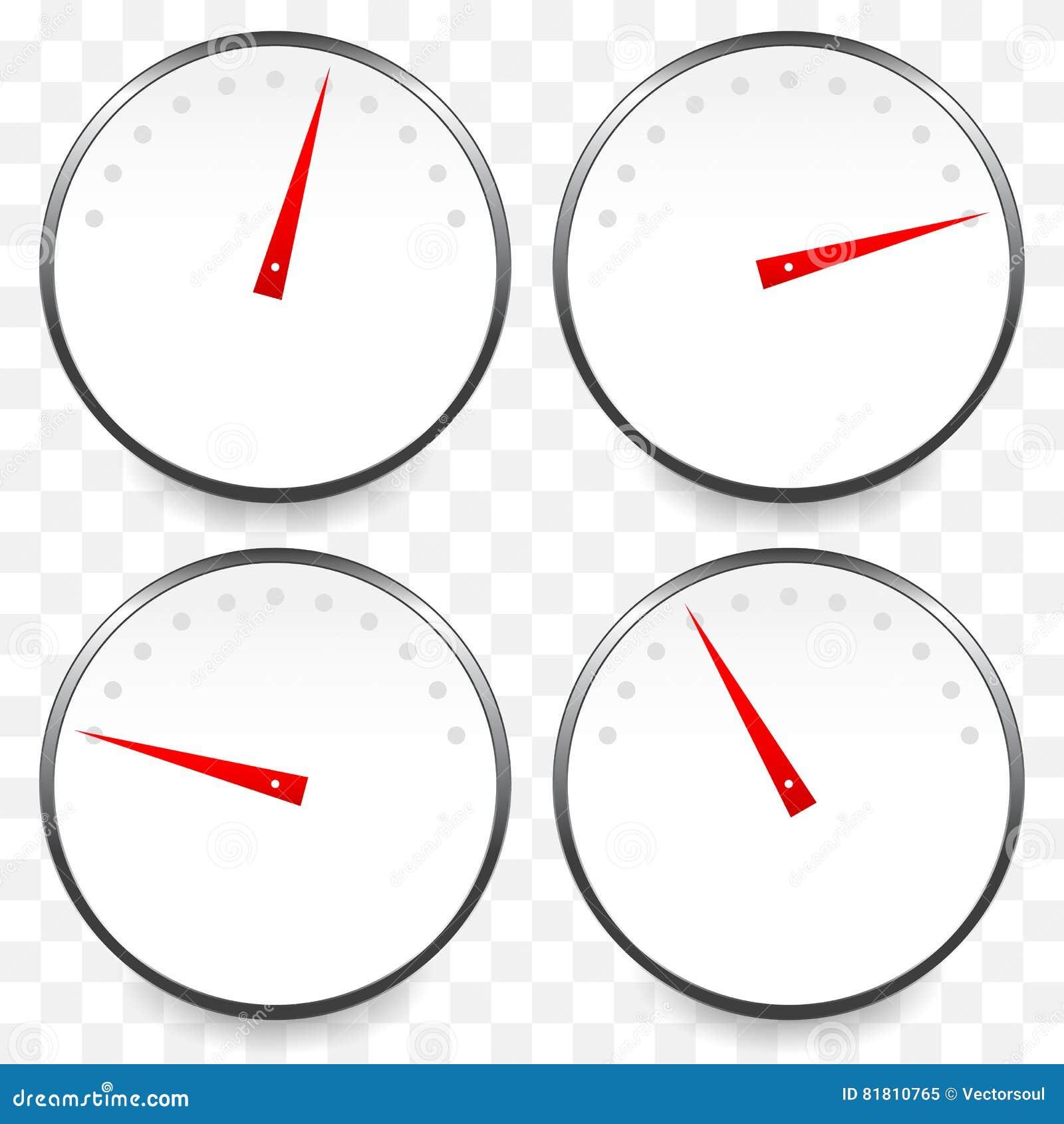 Метры, шкалы с красным указателем Спидометр, манометр, давление