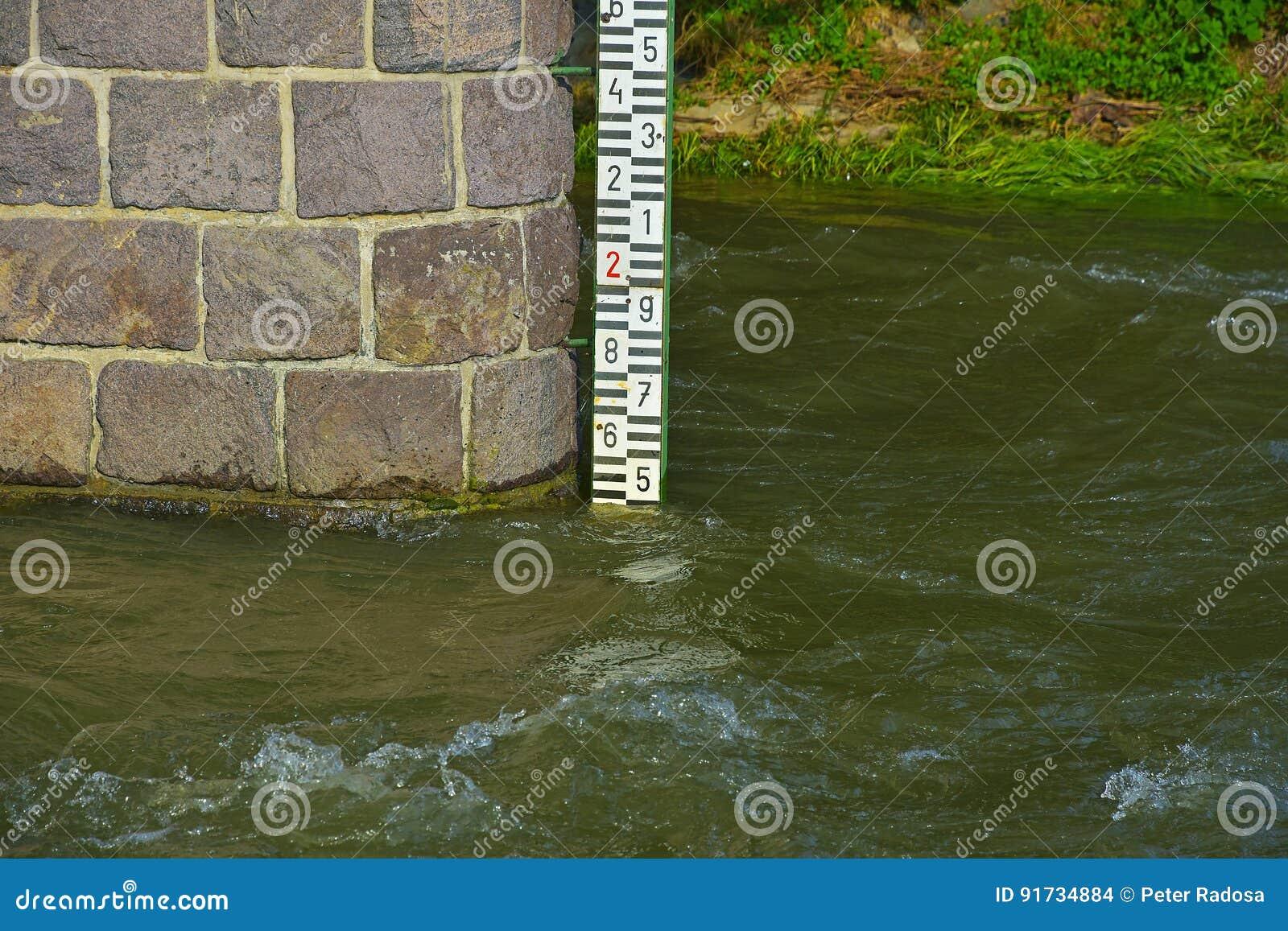 Метр уровня воды