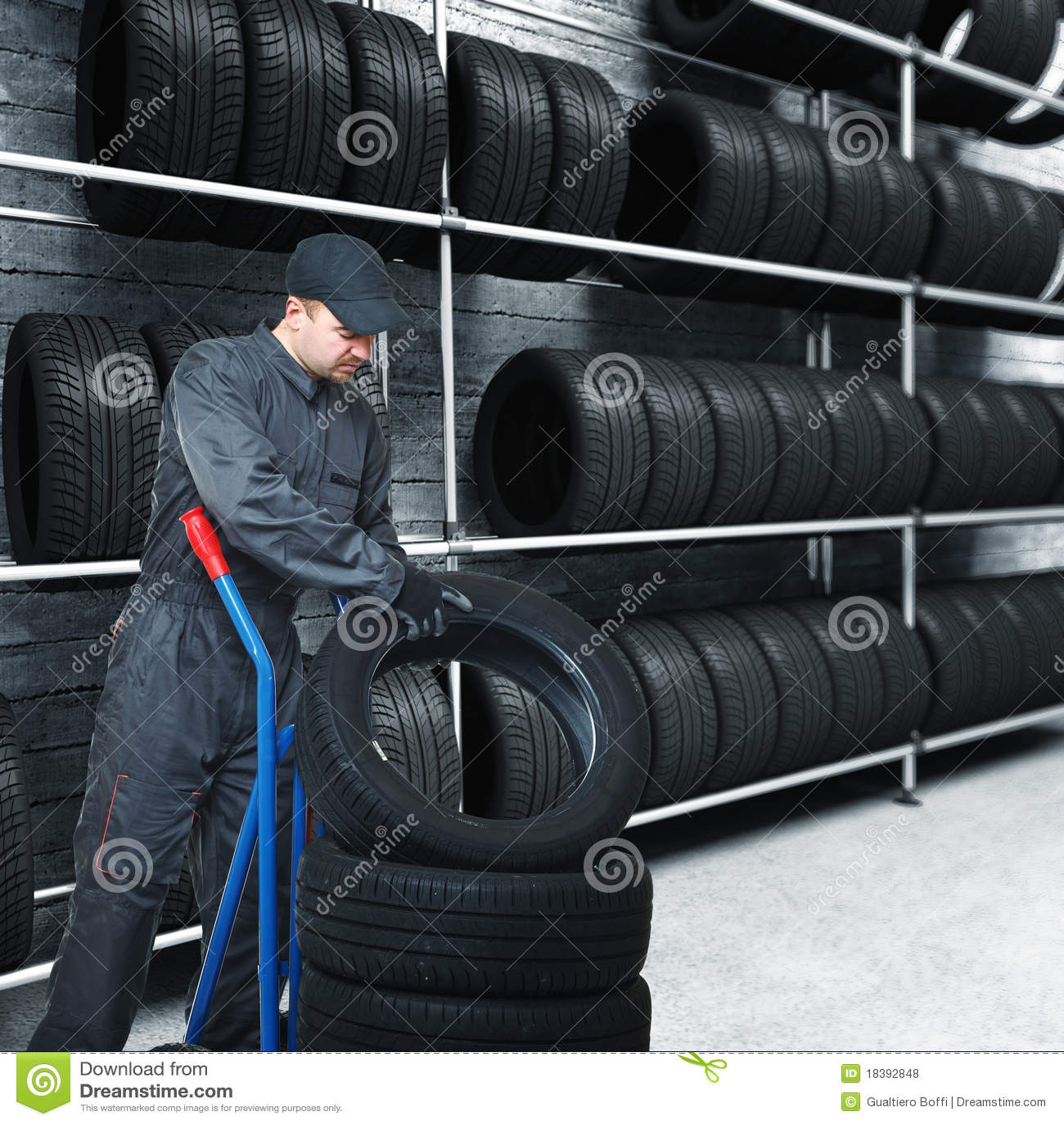 механик гаража предпосылки