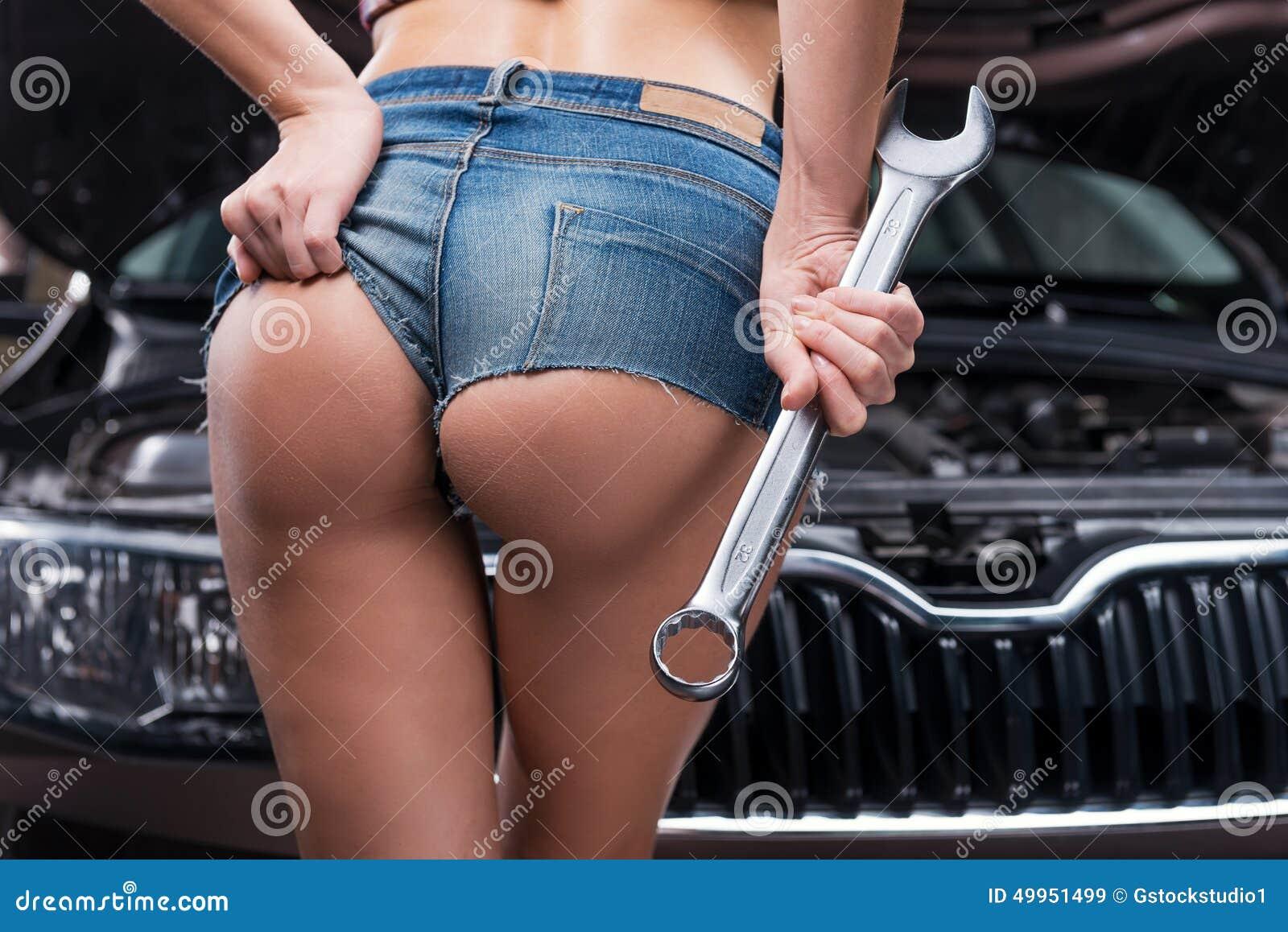 Девушки механик сексуальные