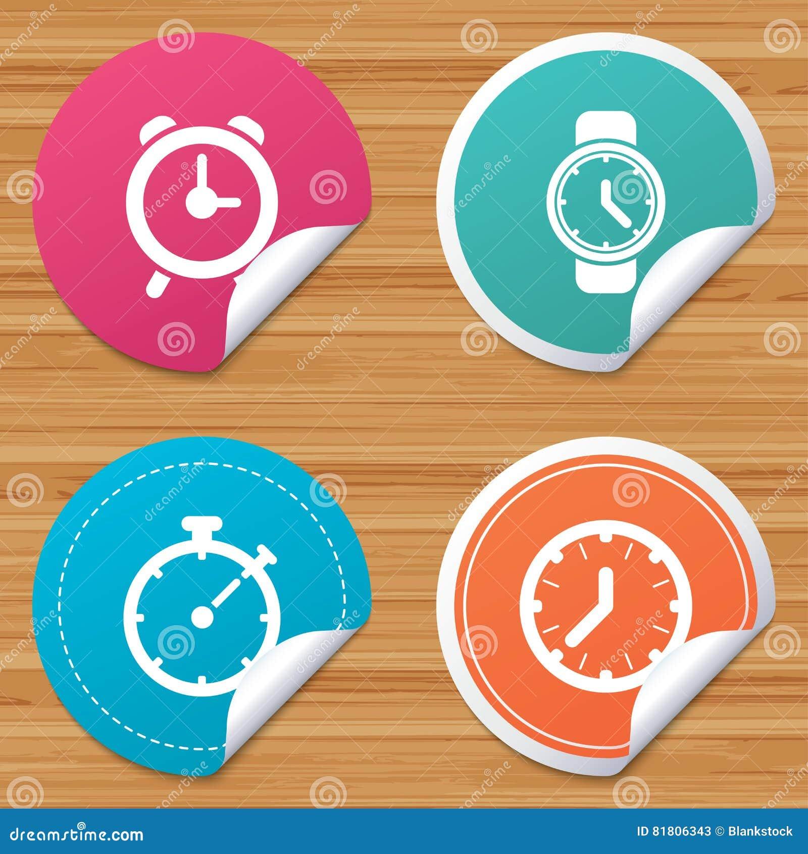 Механически значки времени часов Таймер секундомера