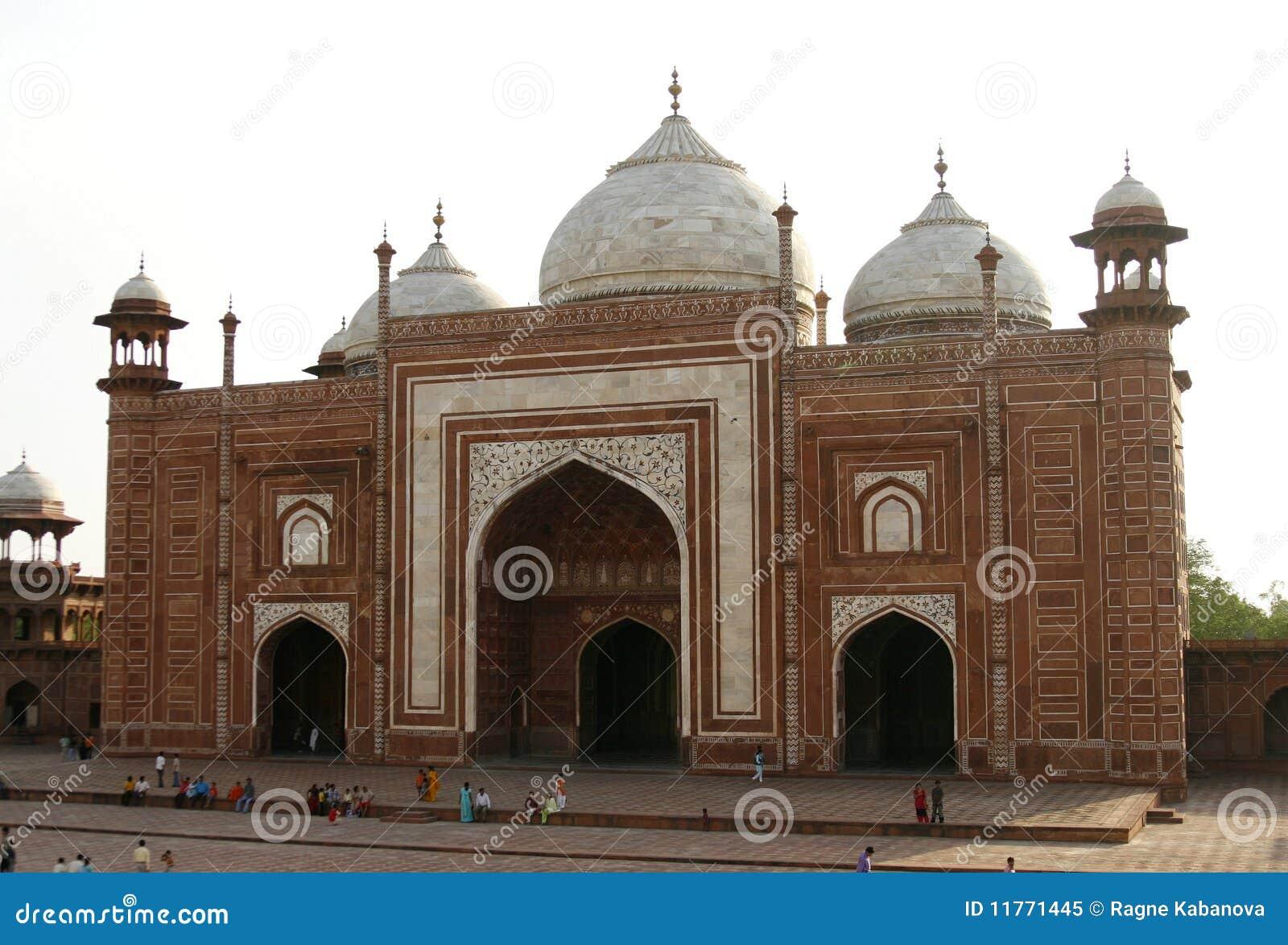 мечети masjid agra Индии taj mahal следующее к