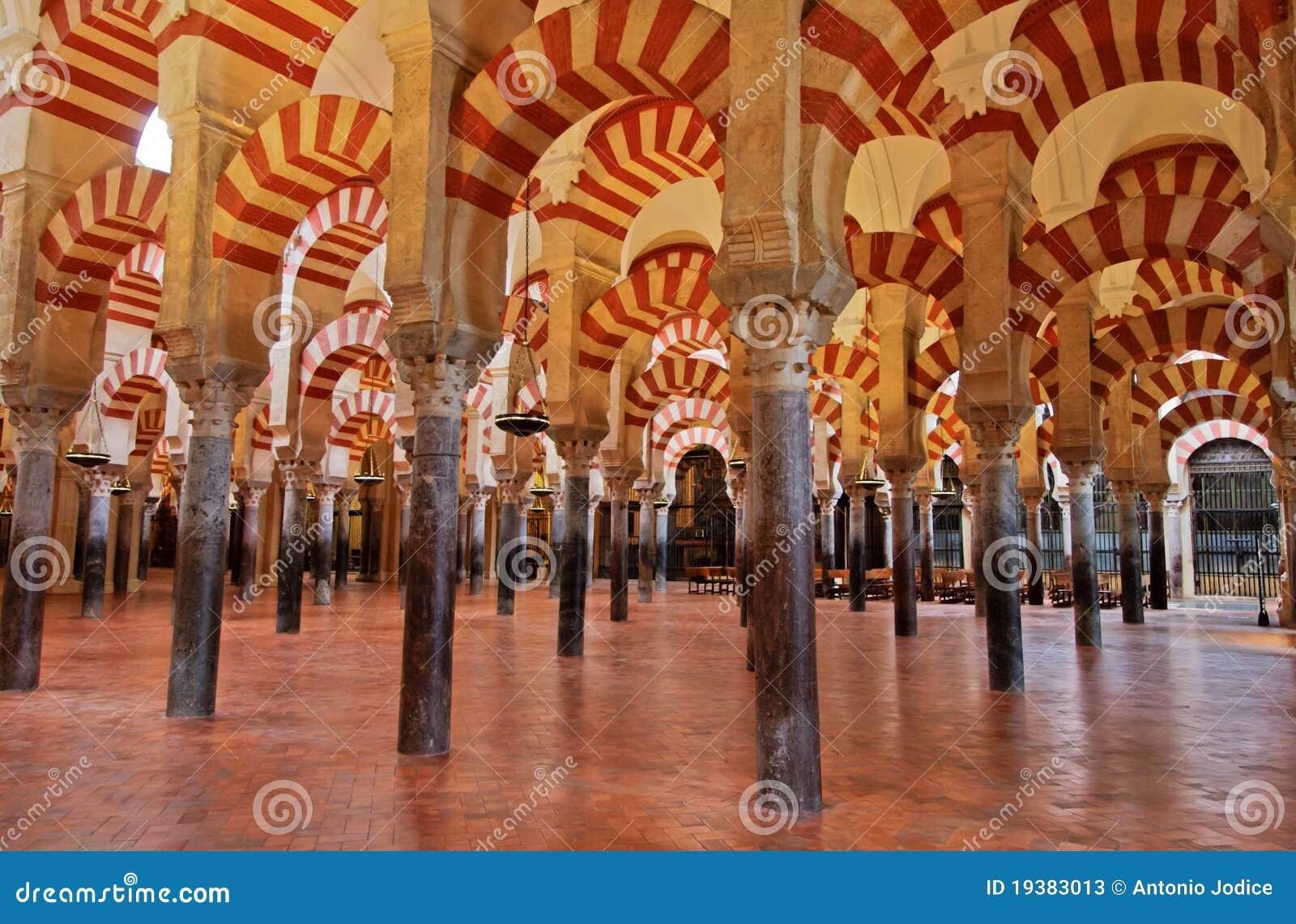 мечеть Испания cordoba большая