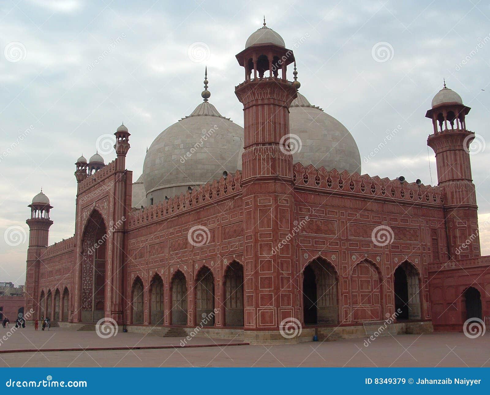 мечеть lahore badshahi