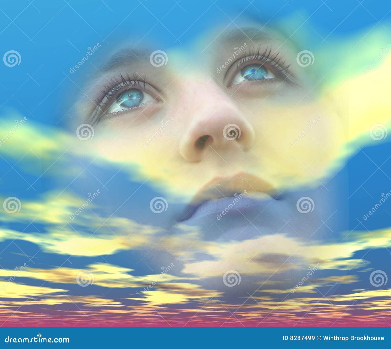 мечтательные глаза