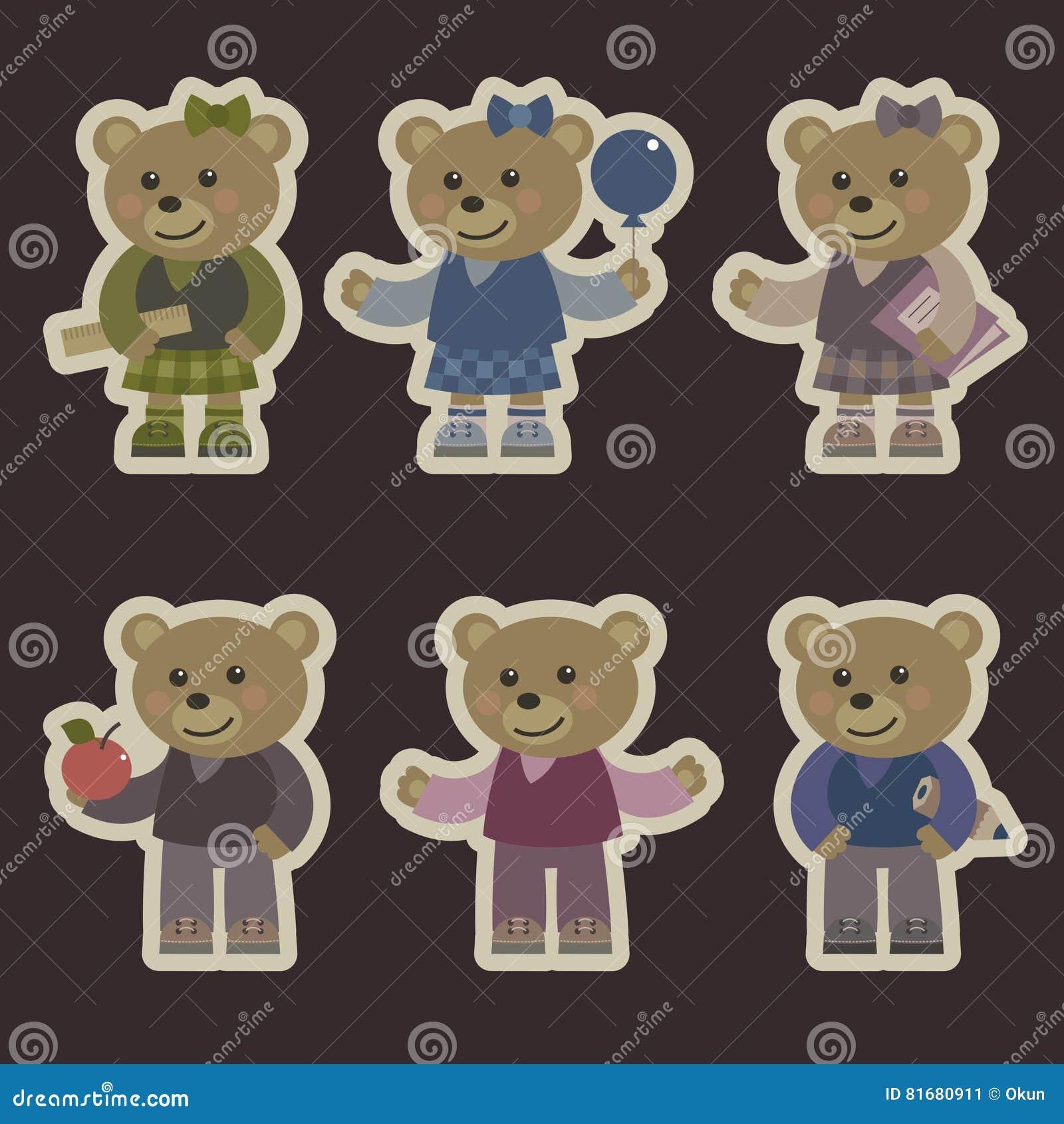 медведи установили игрушечный