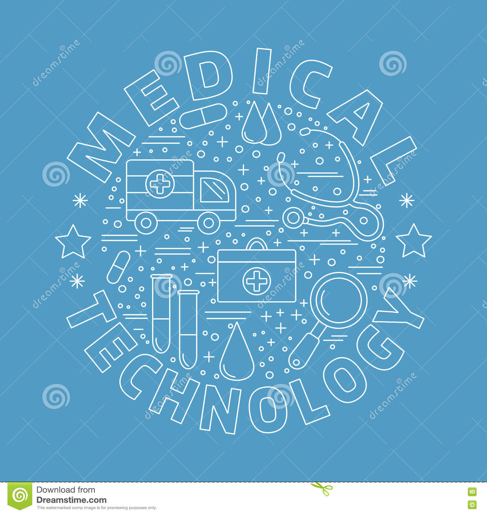 Медицинская диагностика, конструктивная схема графического дизайна проверки