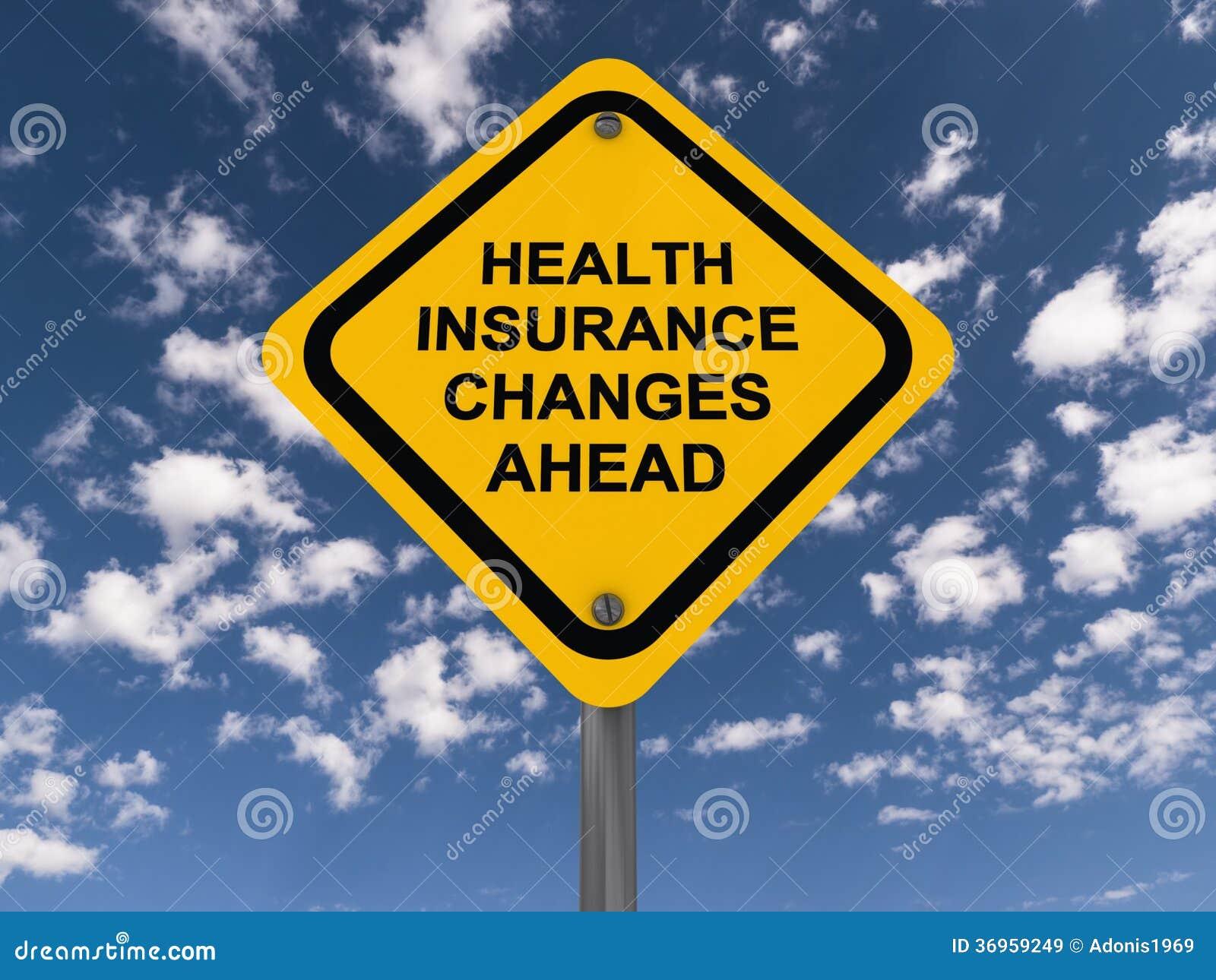 Медицинская страховка изменяет вперед