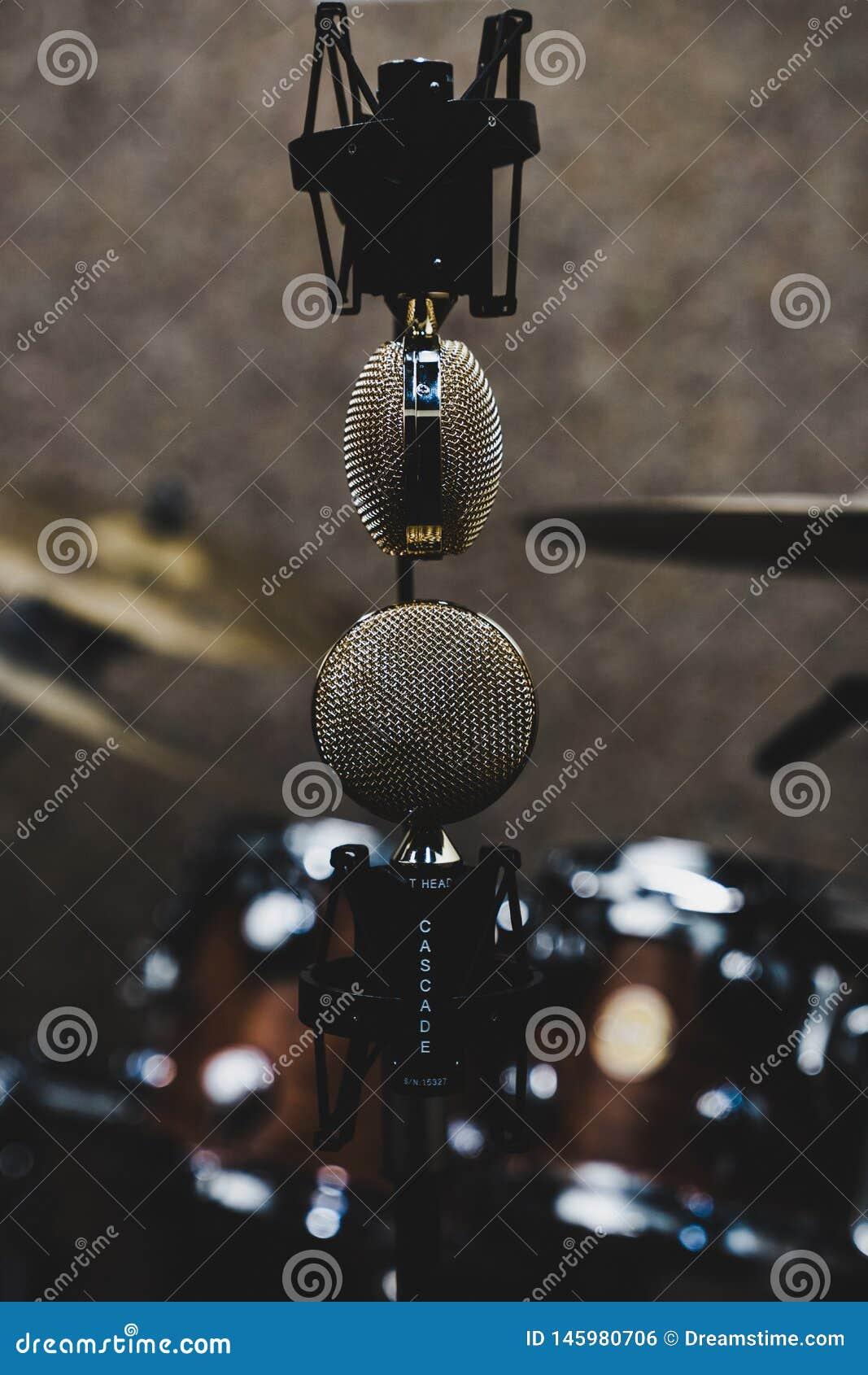 Микрофоны вверх ногами