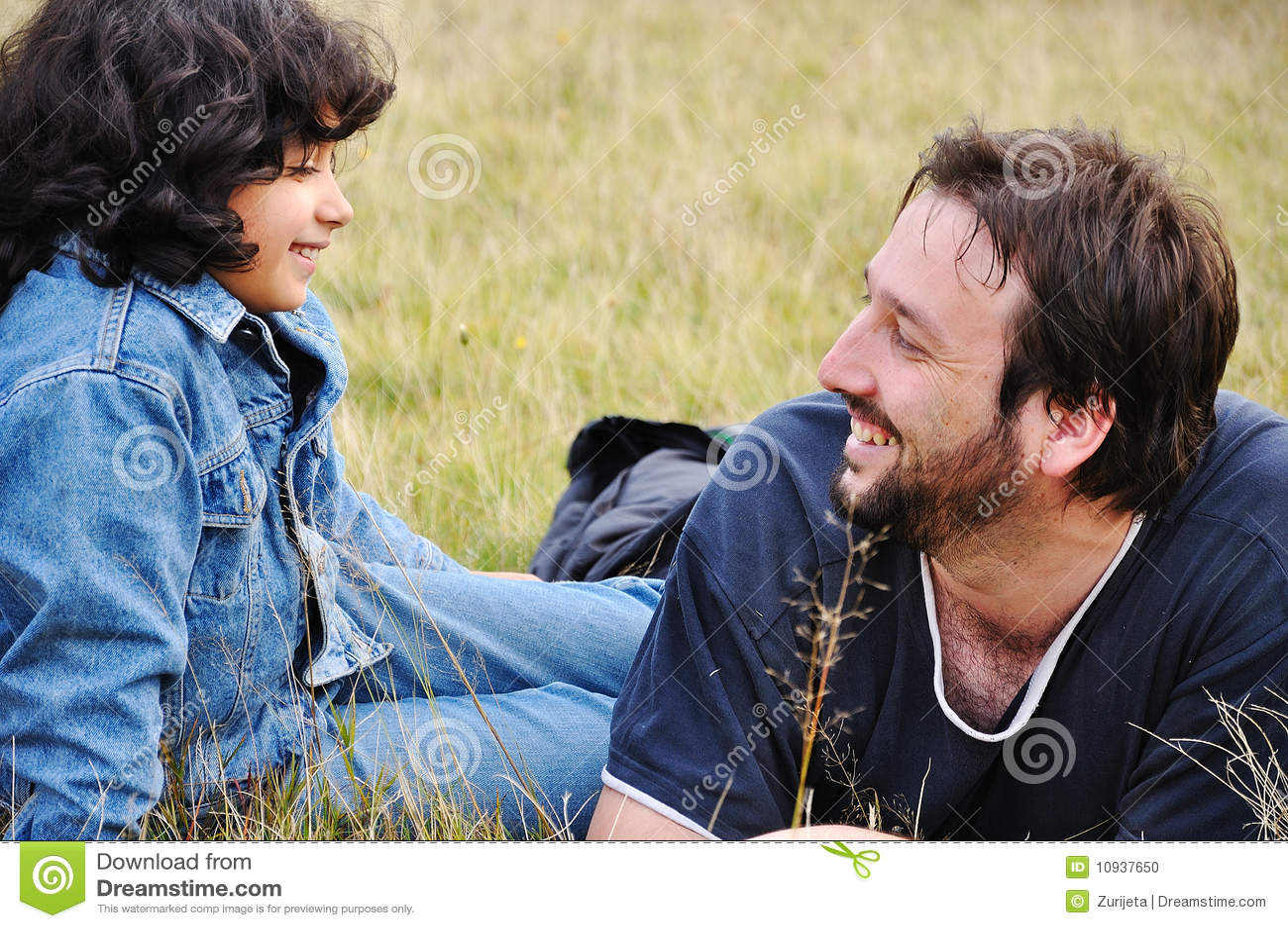 милая девушка отца немногая молодое