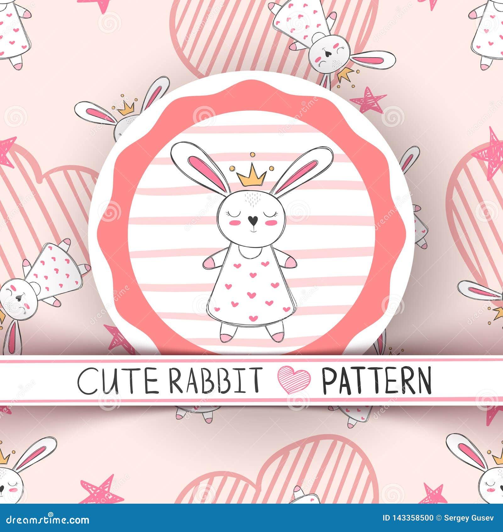 Милая маленькая принцесса - мультфильм кролика