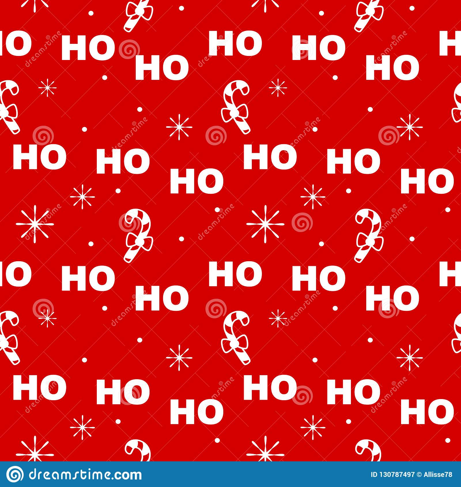 Милая праздничная безшовная иллюстрация предпосылки картины вектора со светами рождества гирляндой и снежинками
