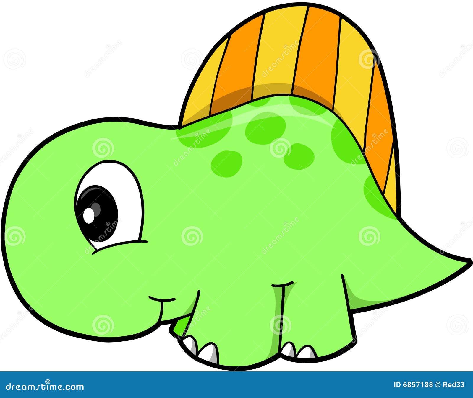 милый вектор динозавра