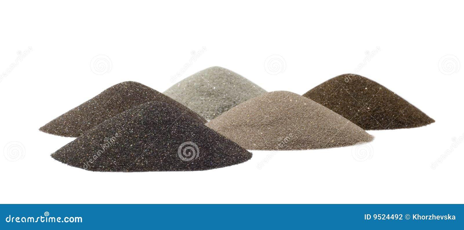 минералы индустрии конусов минируя песок s