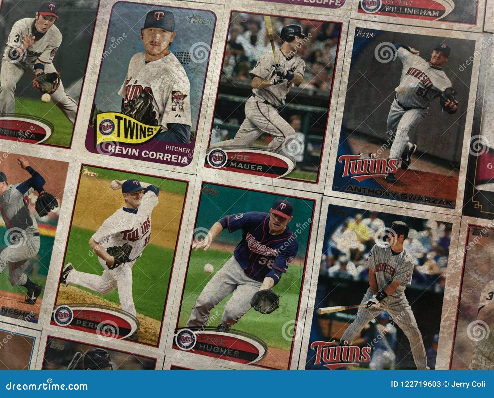 Минесота дублирует карточки торговой операции бейсбола