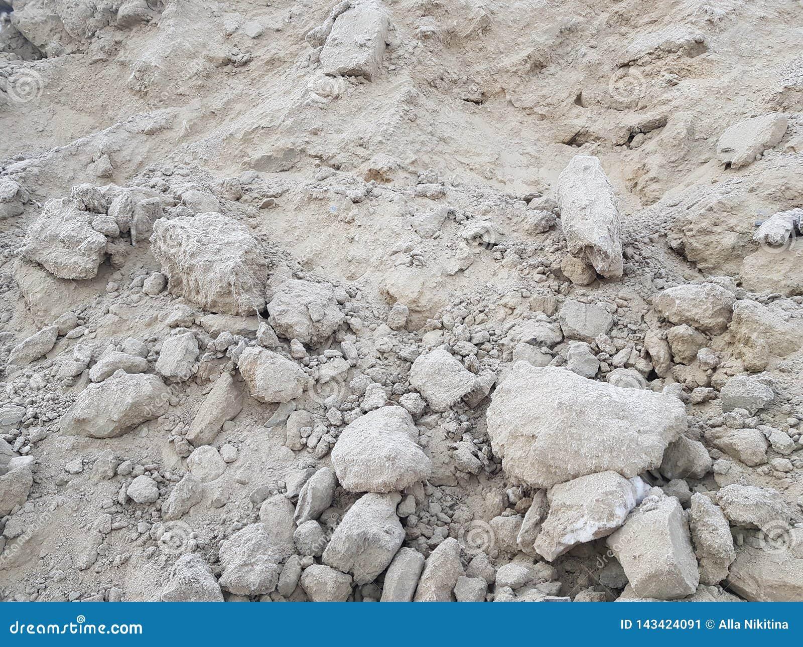 Минирование песка, свободная почва Строительная промышленность