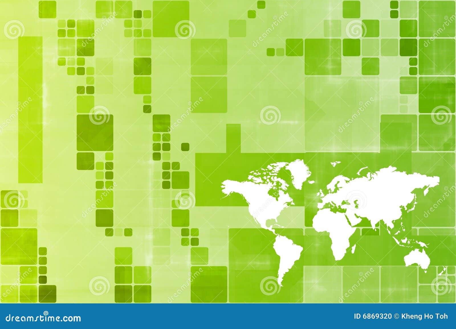 мир абстрактного шаблона зеленого цвета дела широкий