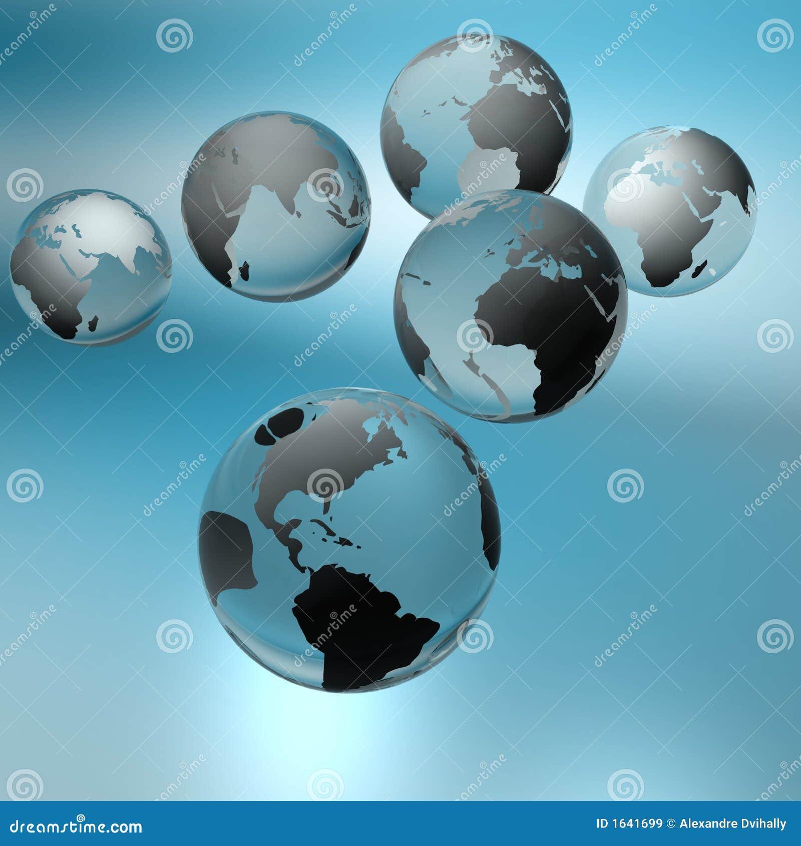мир глобусов материков