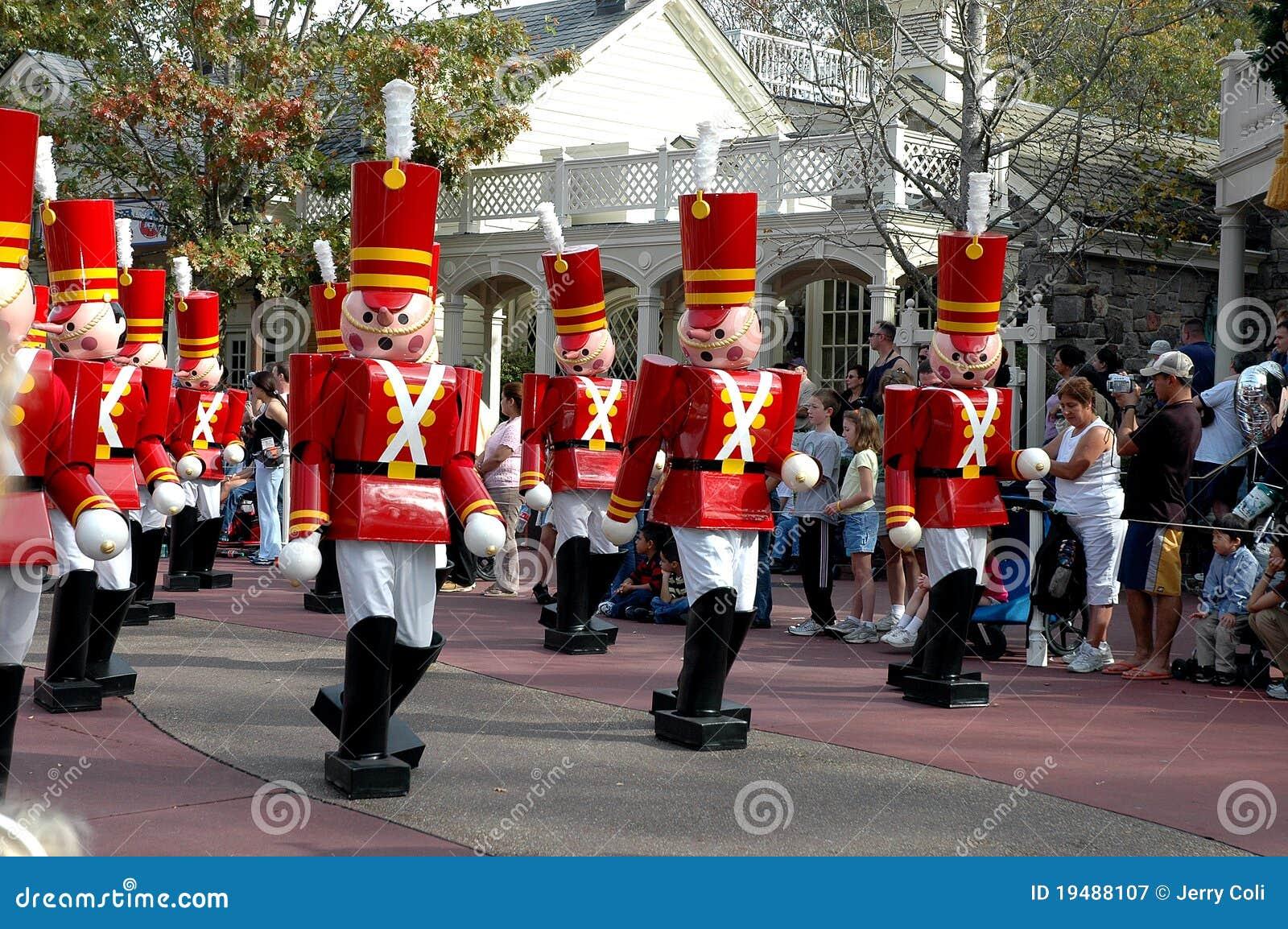 мир игрушки воинов парада Дисней рождества