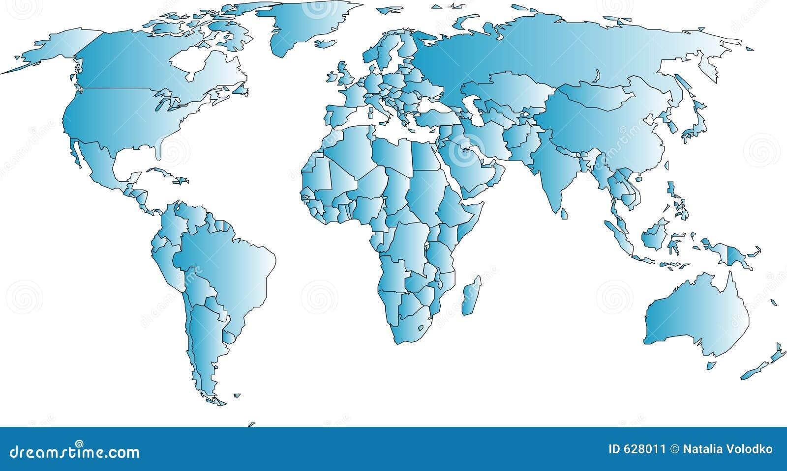 Download мир карты иллюстрация штока. иллюстрации насчитывающей australites - 628011
