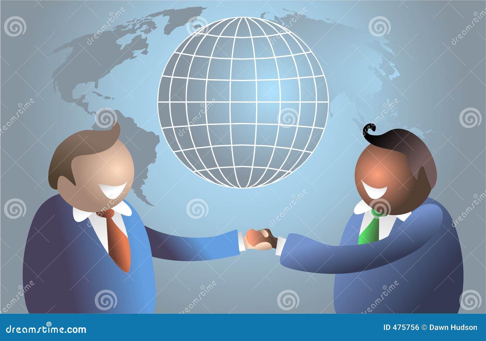 мир рукопожатия
