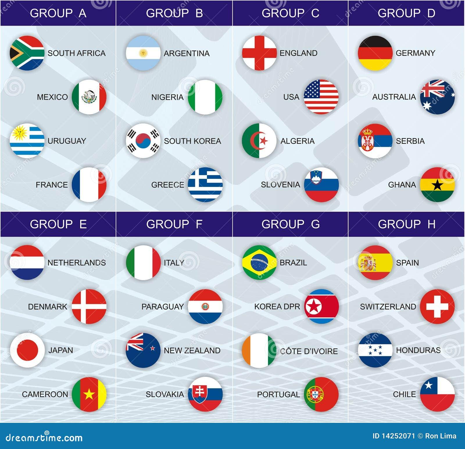 мир 2010 групп чашки