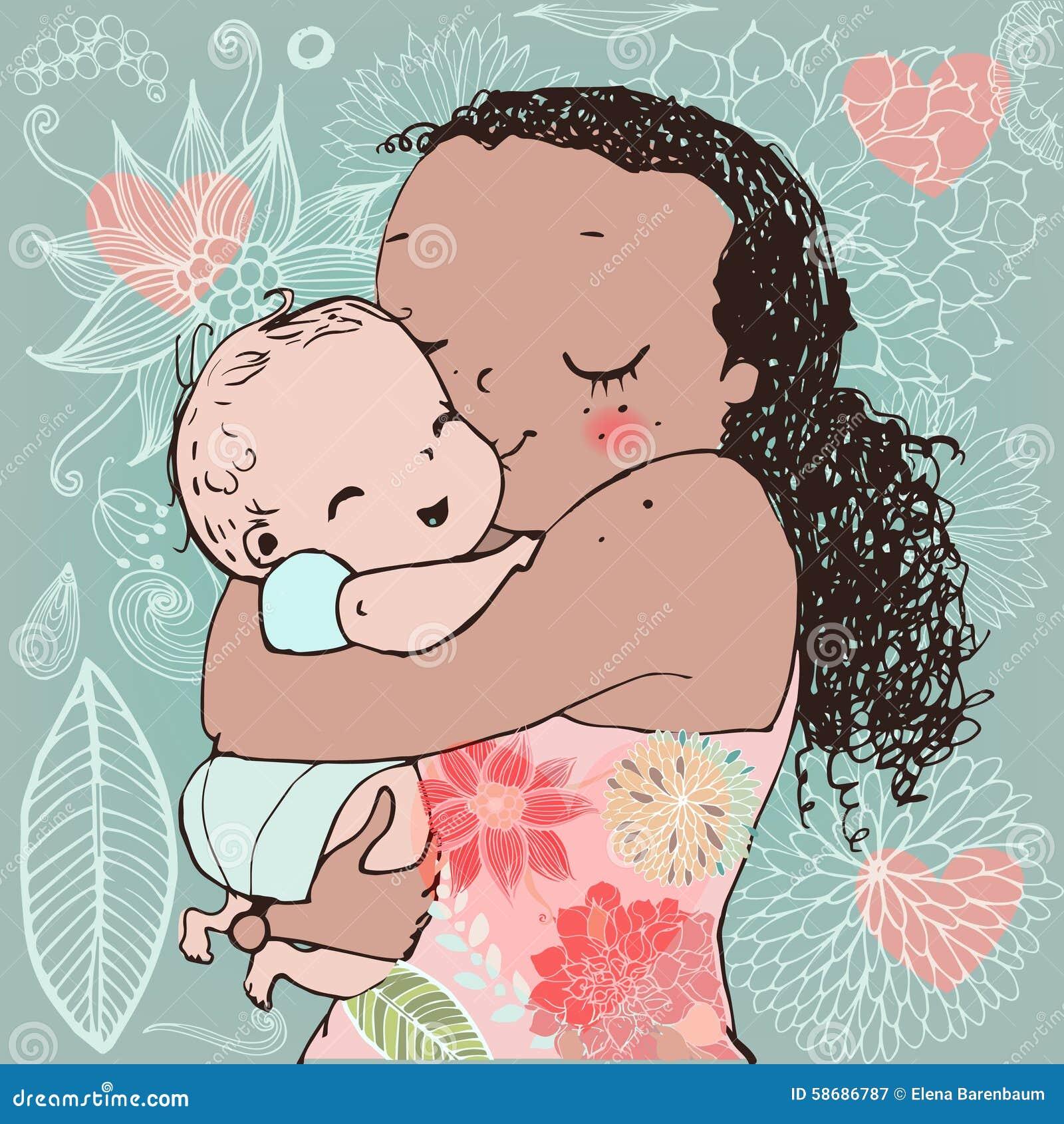 картинку ребенком скачать мамы с