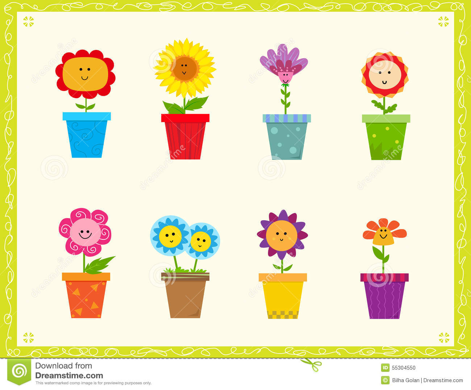 милые цветки