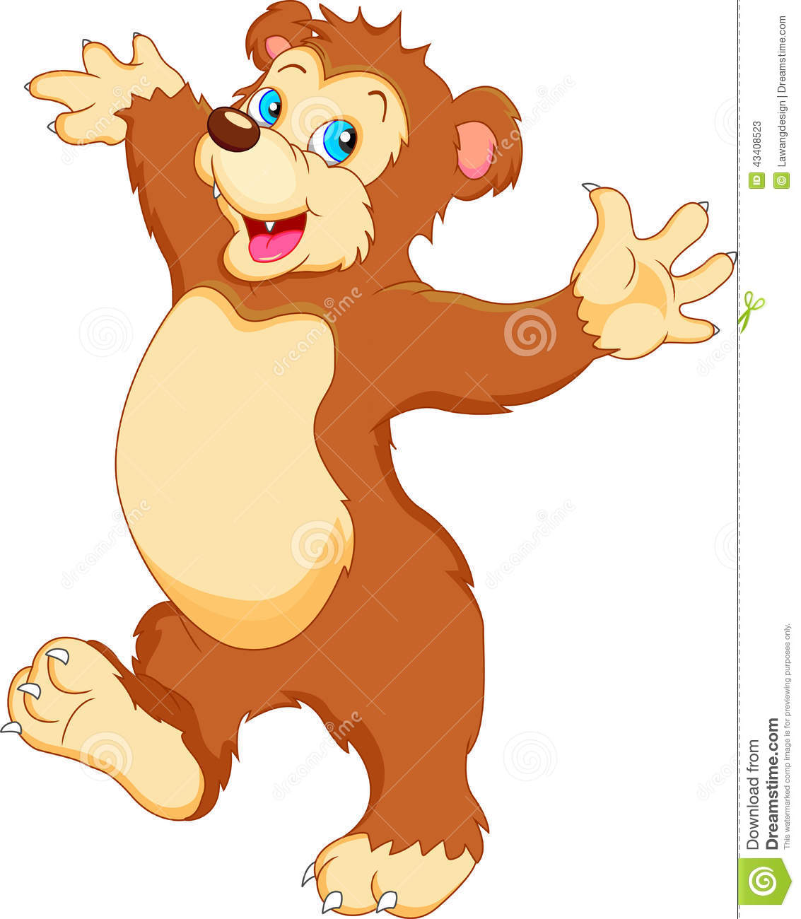 Bear Illustration  Download Free Vector Art Stock