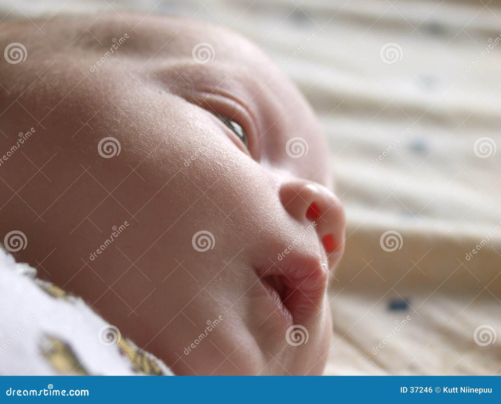 младенец заботливый