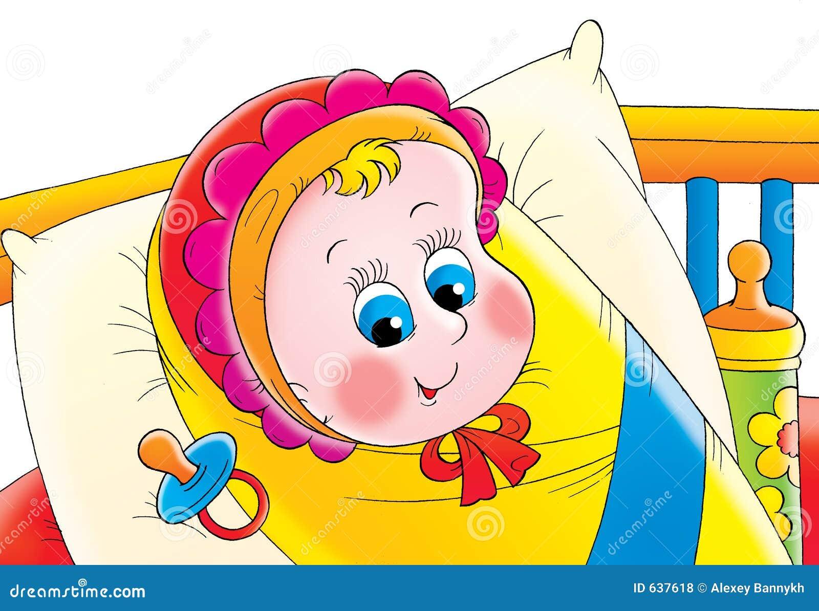Download младенец иллюстрация штока. иллюстрации насчитывающей цвет - 637618
