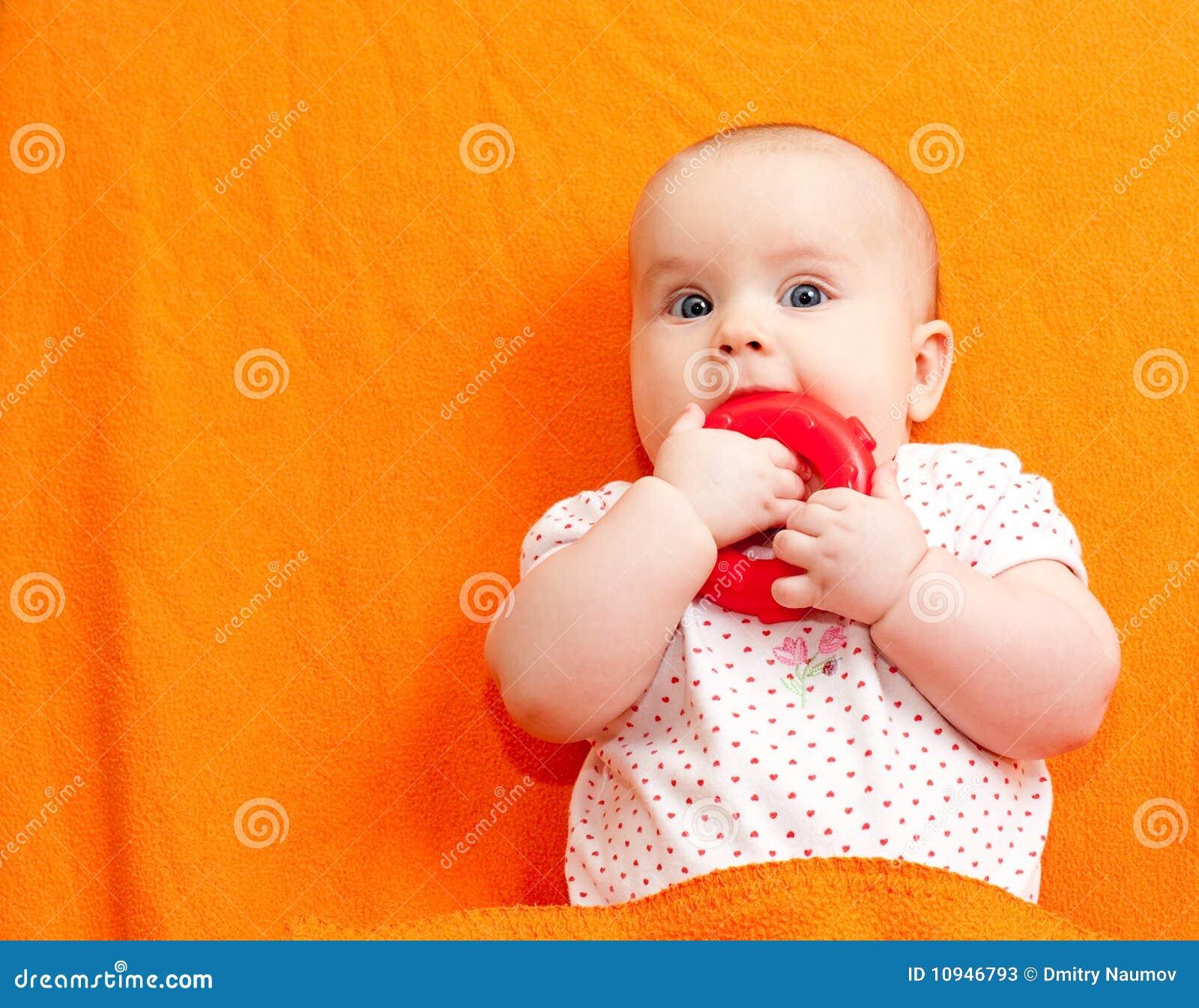 младенческая игрушка teething