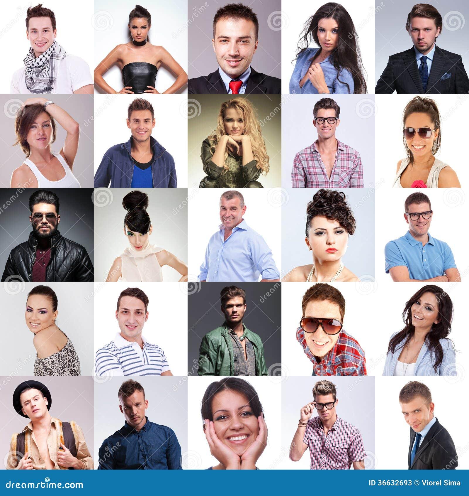 Как сделать много людей на фото