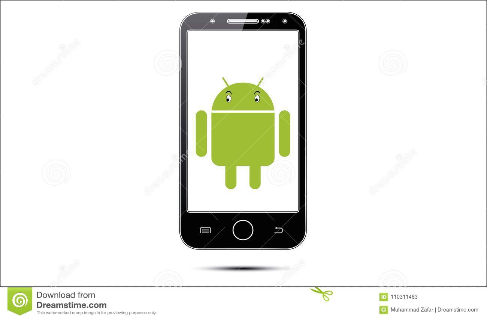 Мобильный телефон андроида