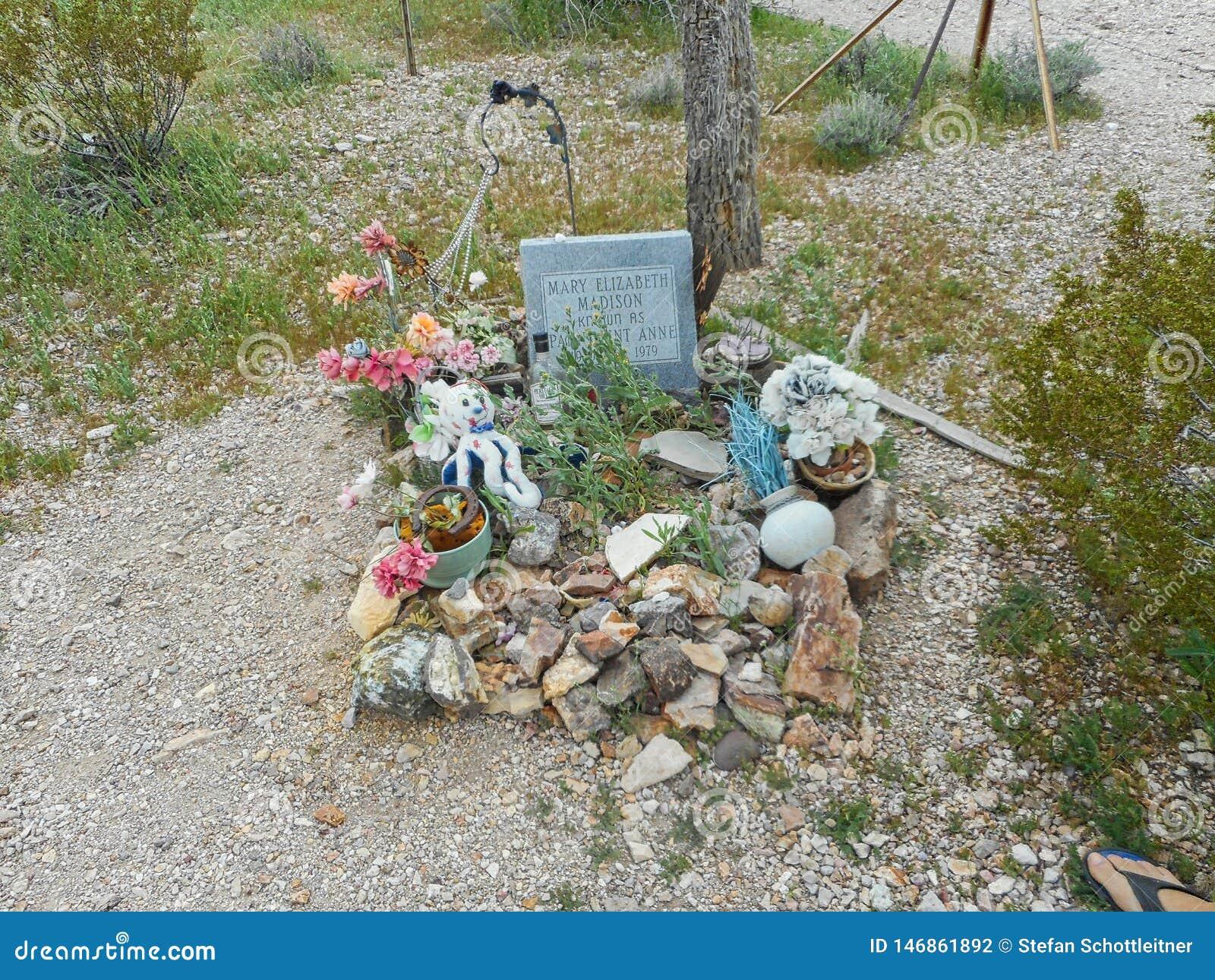 могила от пастушкы в Техасе