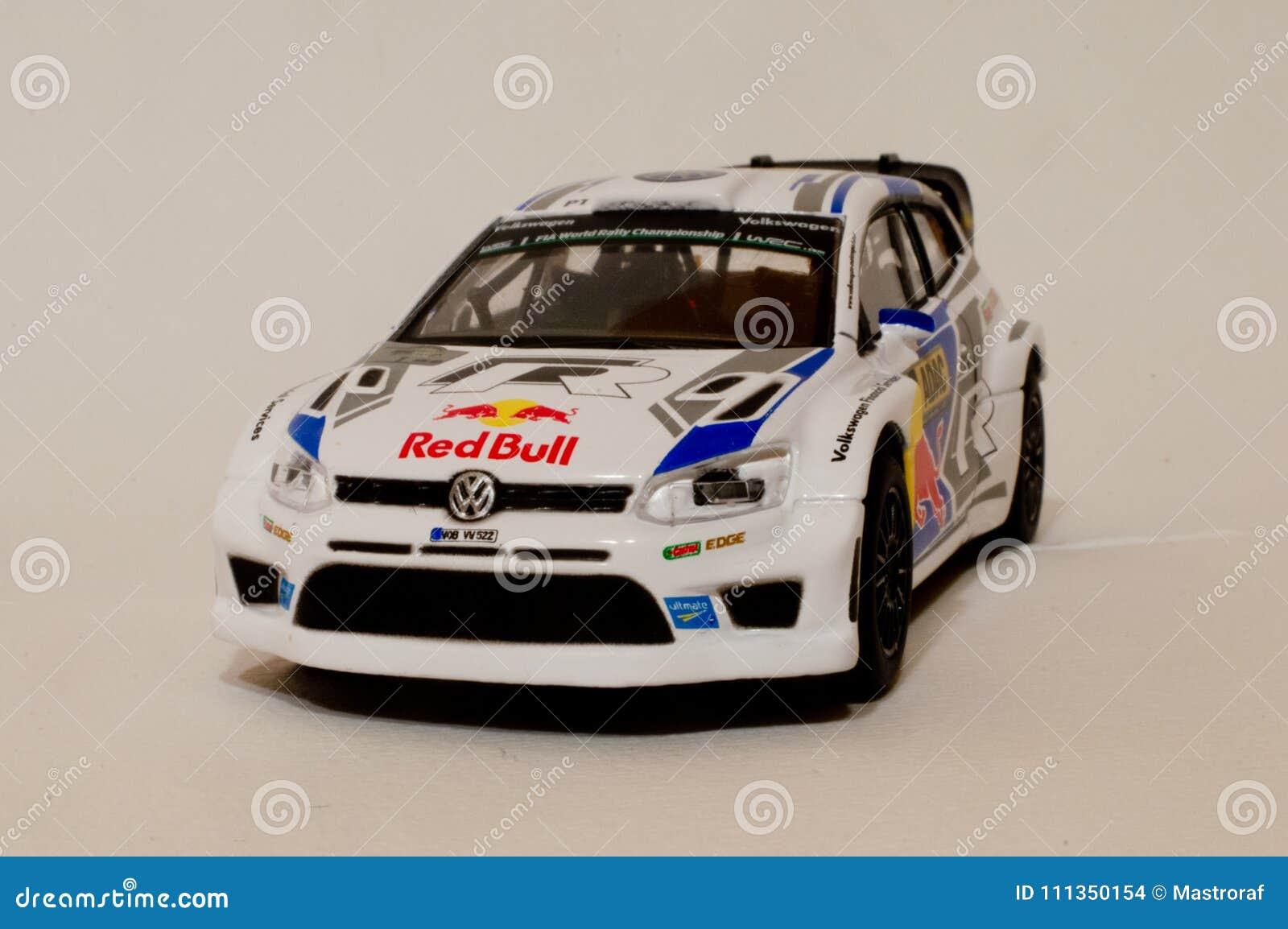 Модель поло r WRC 1/43 VW BBurago