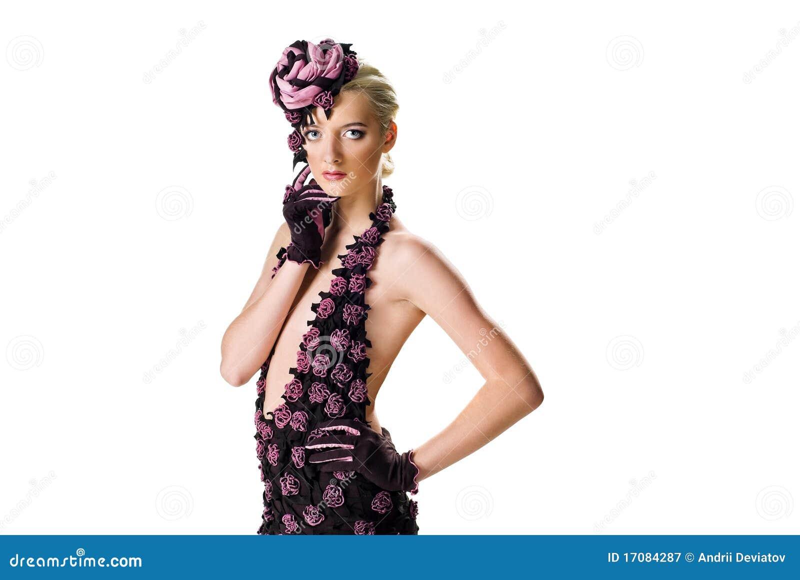 модель способа платья стильная