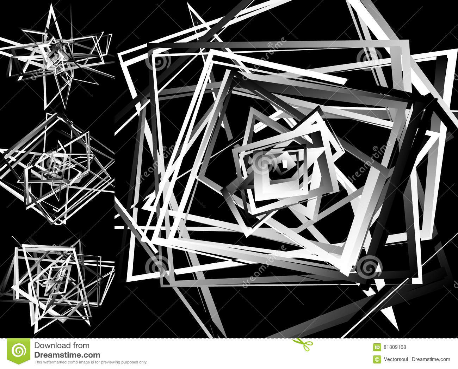 Мозаика хаотического солдата нерегулярной армии, случайных квадратов Repeatable backgrou
