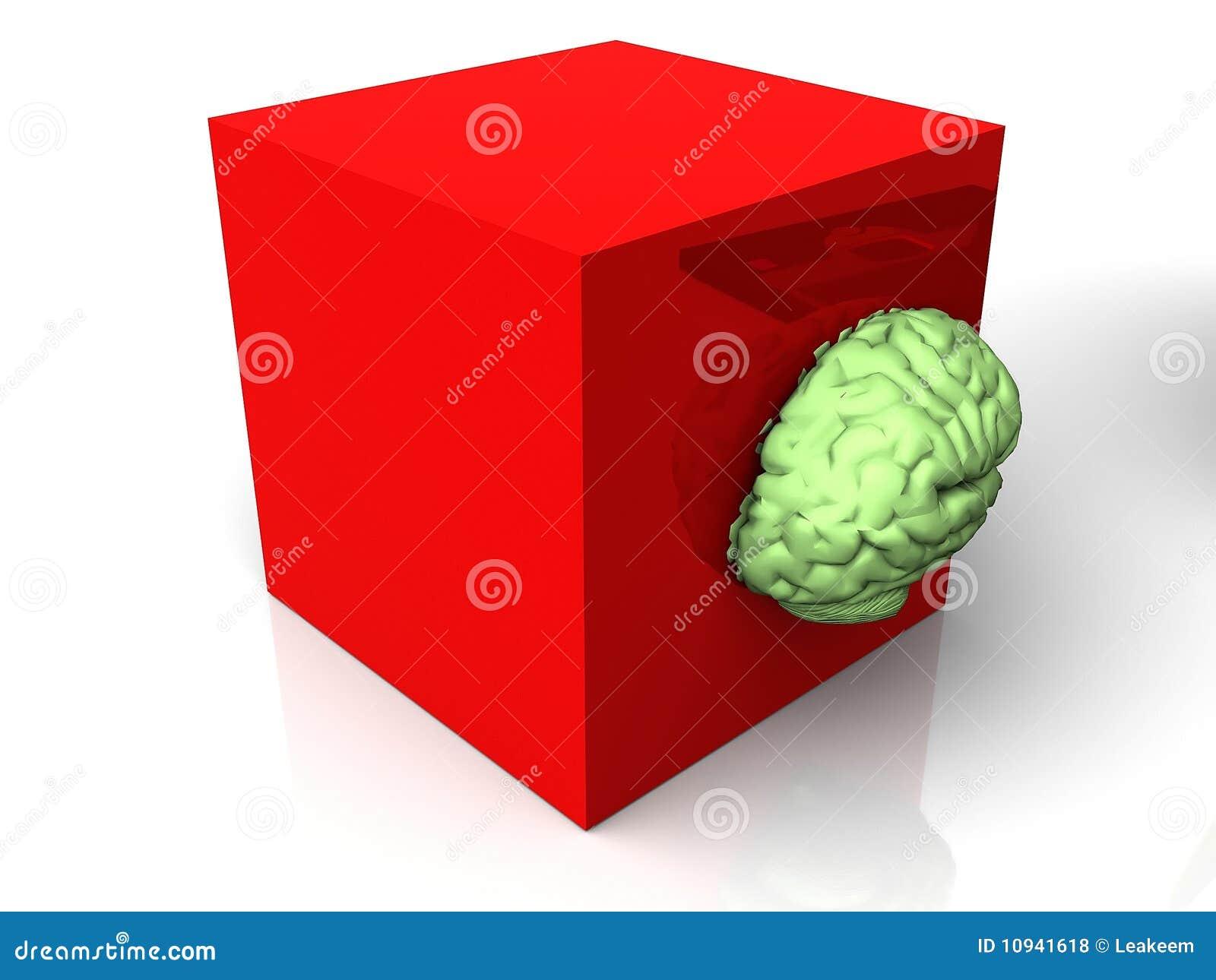 мозг коробки