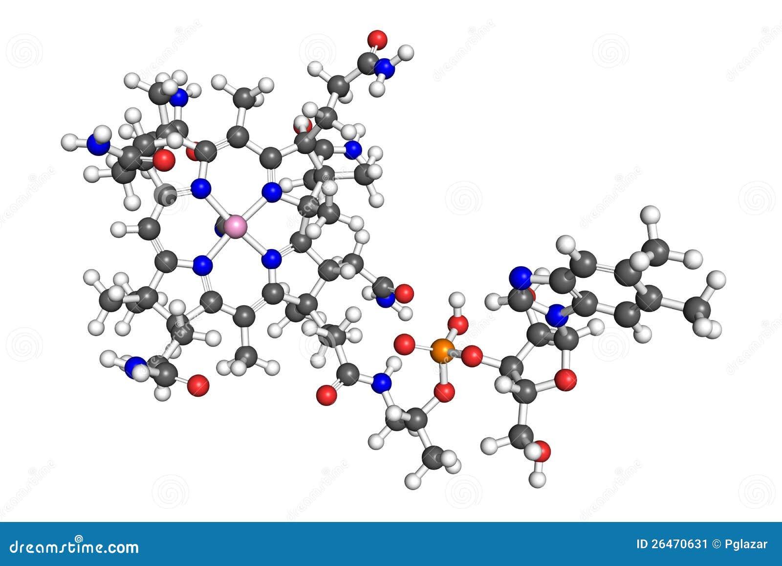 Молекула витамина B12