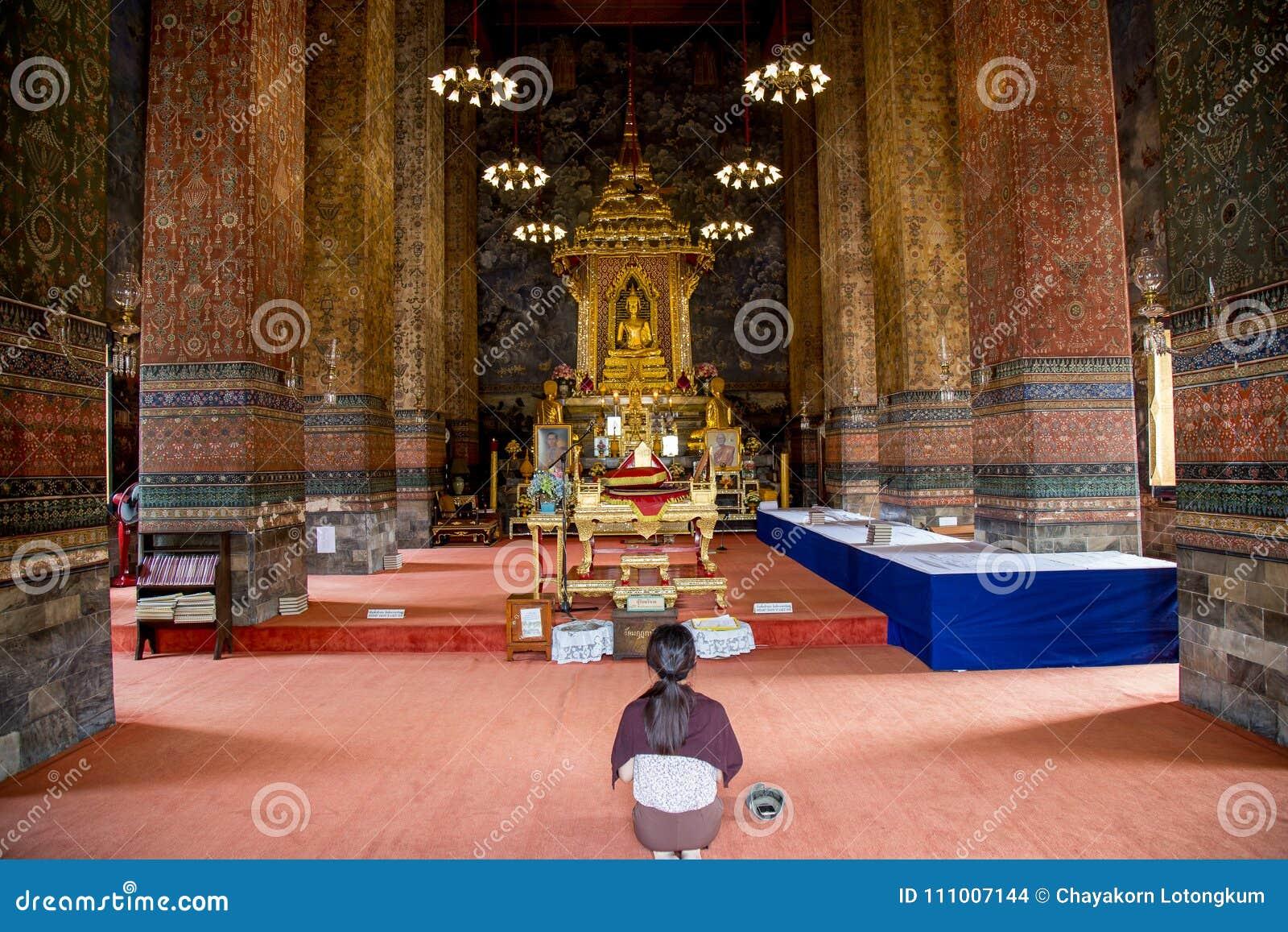 Молитвенное место, который нужно помолить для буддизма