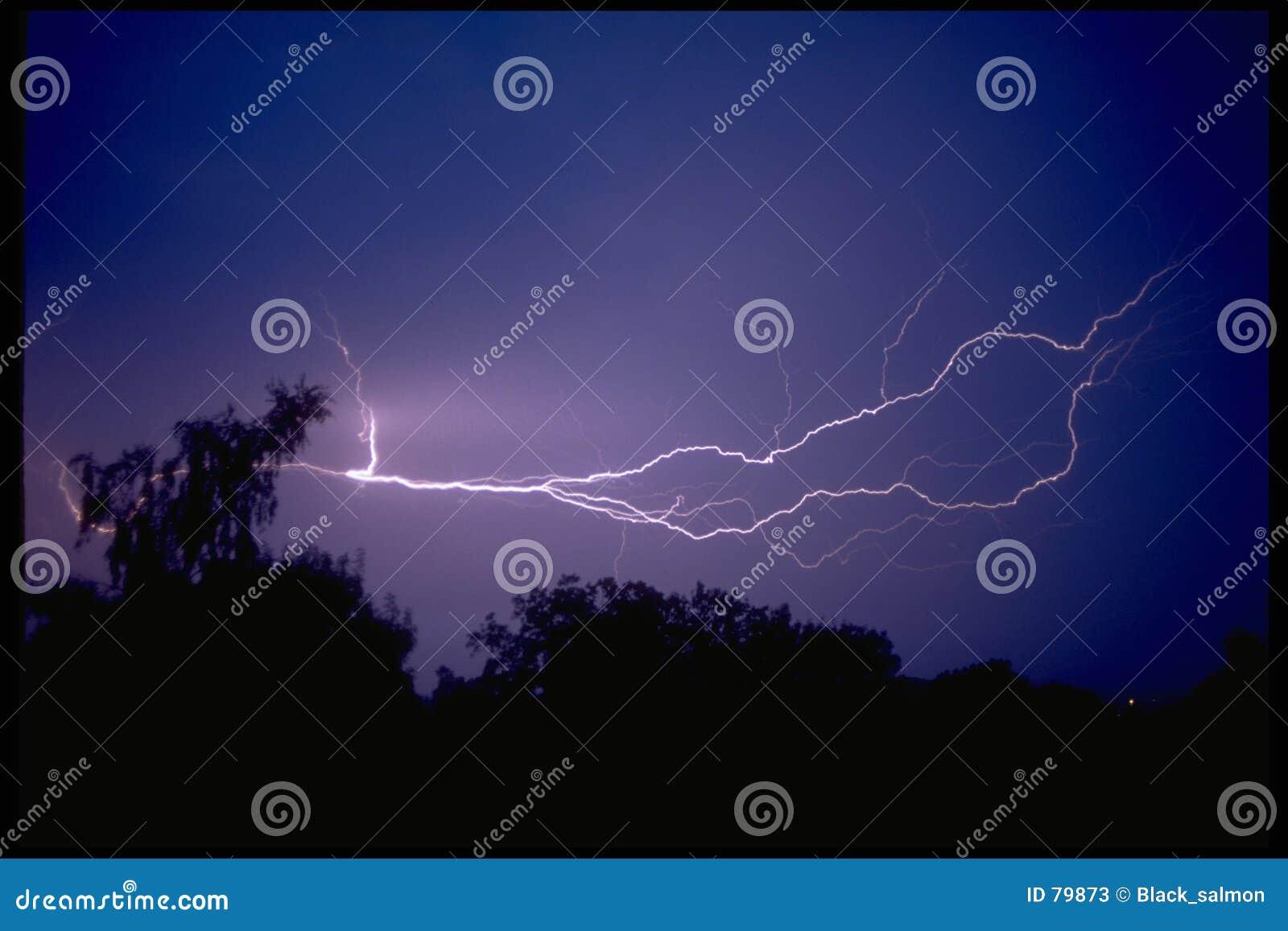 молния
