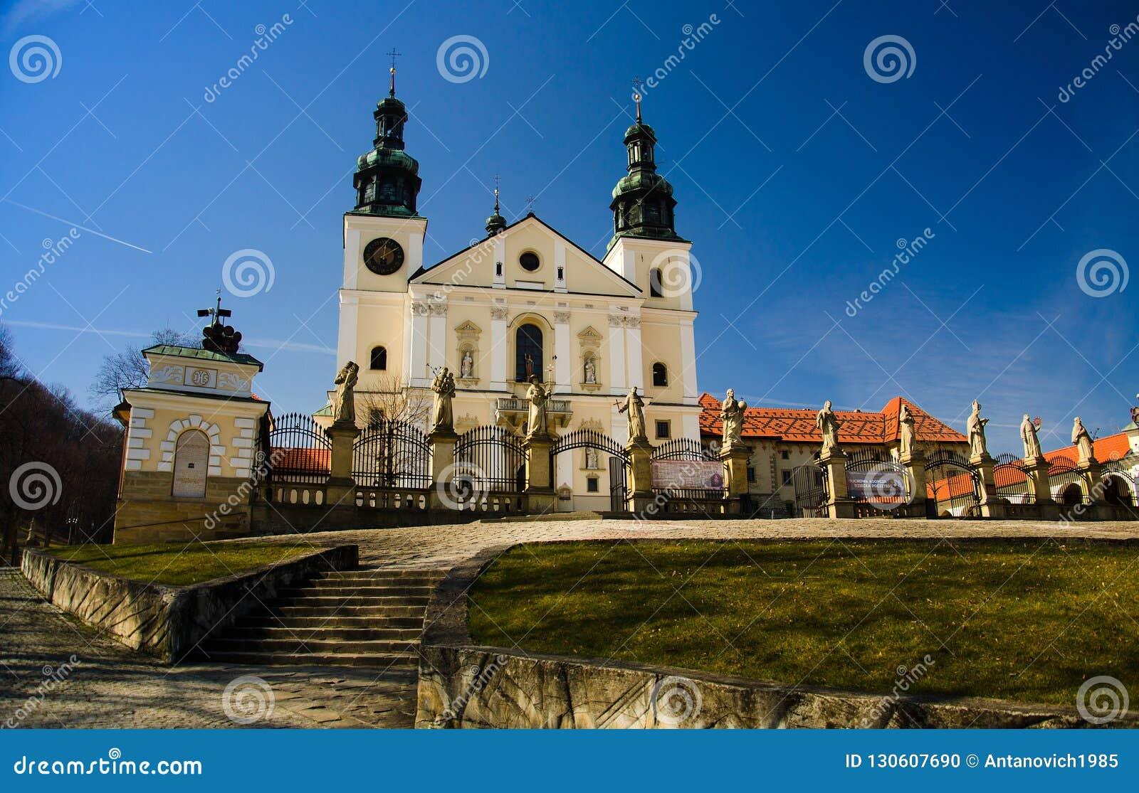 Монастырь Kalwaria Zebrzydowska около Краков, Польши