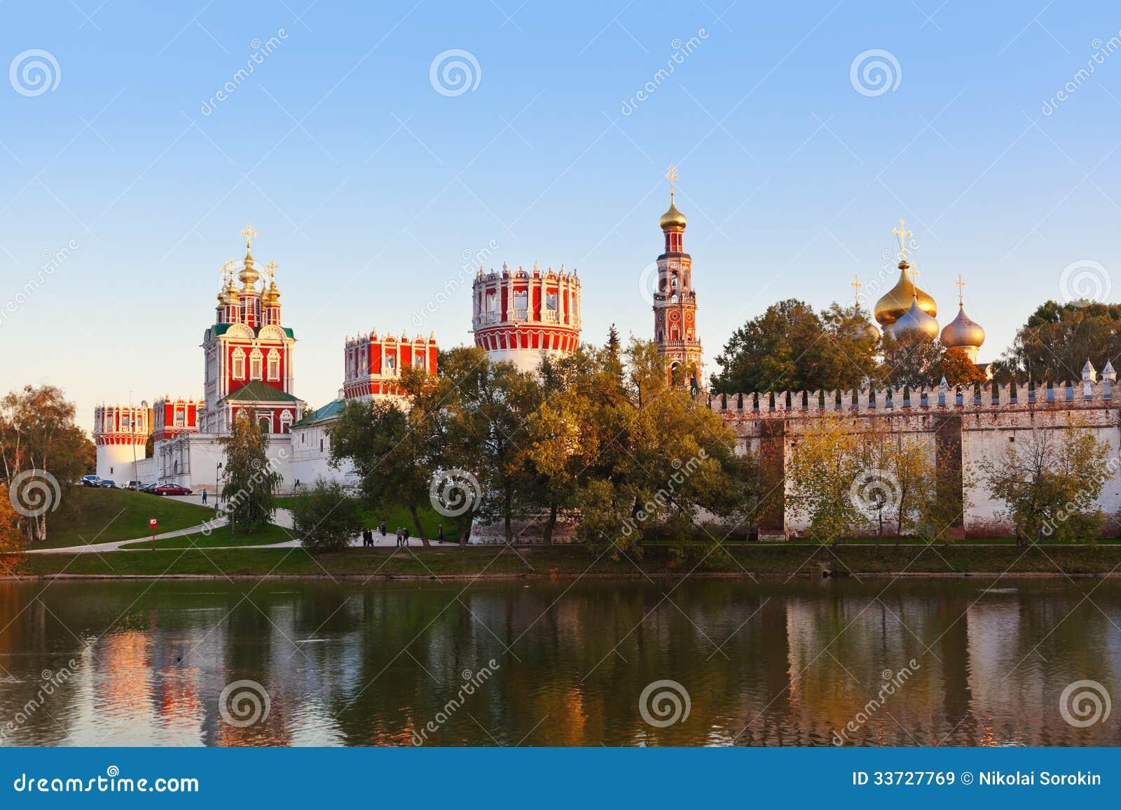 Монастырь Novodevichiy в Москве России