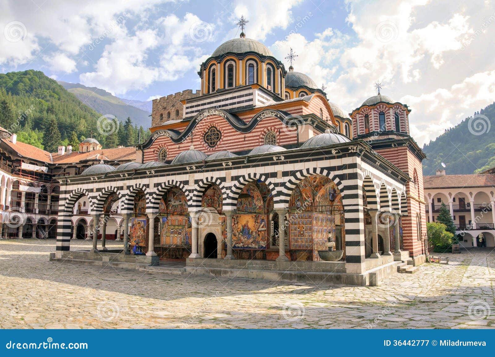 Монастырь Rila, Болгария