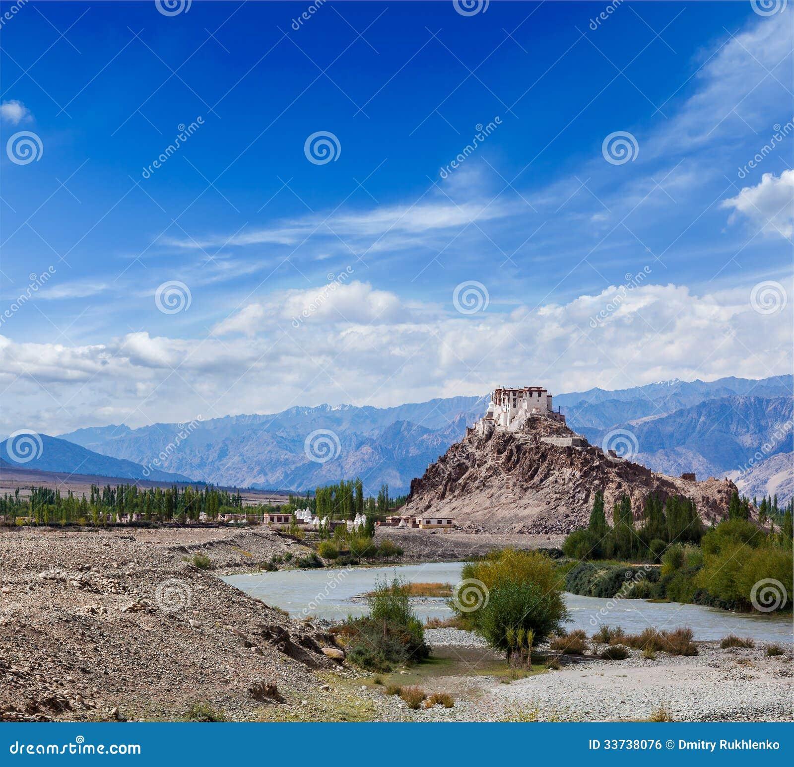 Монастырь Stakna, Ladakh, Индия