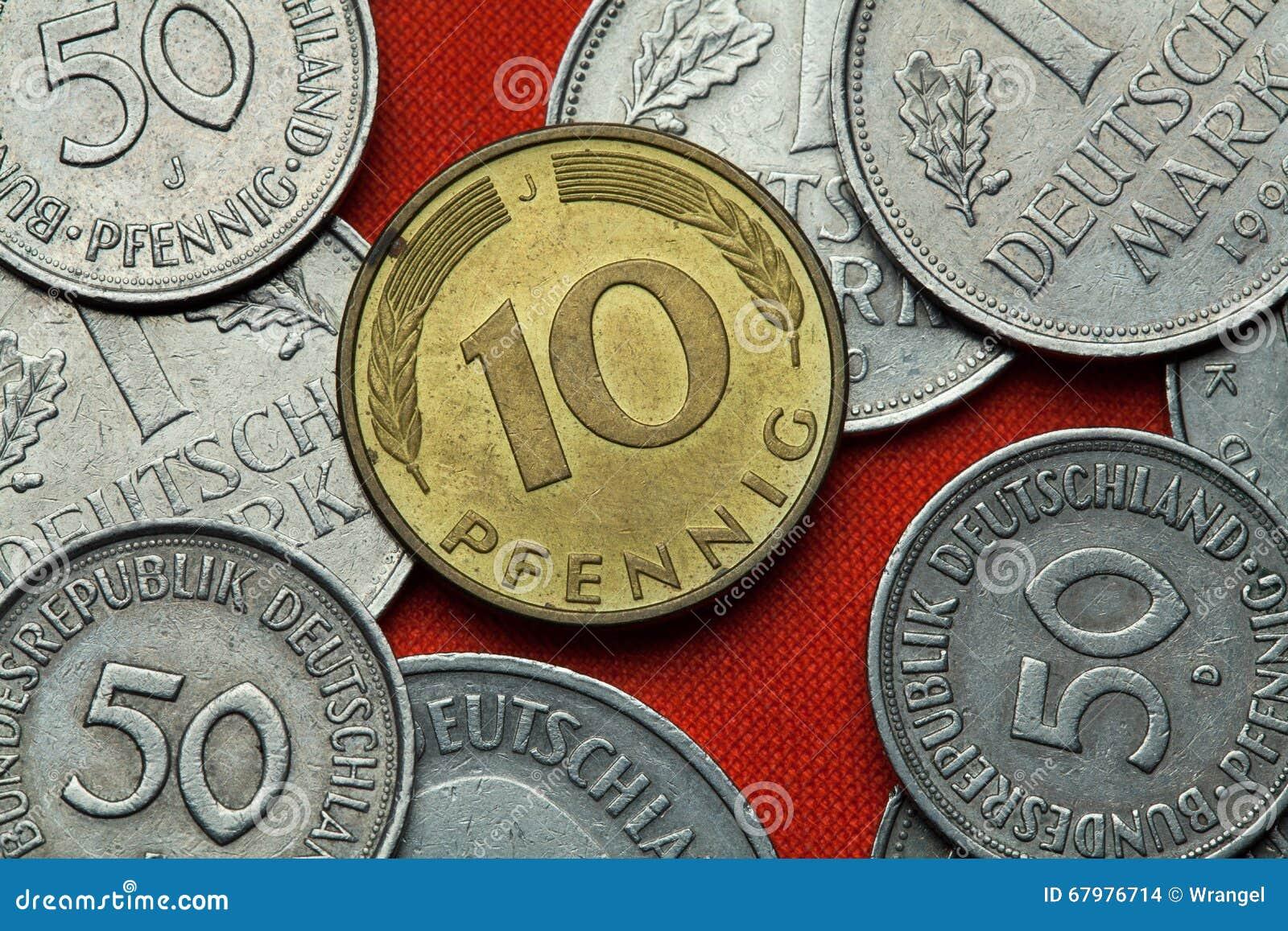 Монетки Германии